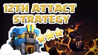 [#25-Air] Clash of Clans War Attack Strategy TH12_클래시오브클랜 12홀 완파 조합(공중)_꽃하마 클랜전_2018