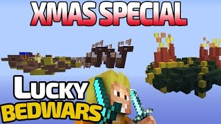 XMAS SPECIAL - PRO RUSH RUNDE 😎 LUCKY BEDWARS ⚔ Minecraft Lucky Blocks Server | IP: LPmitKev.de