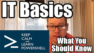 Basic Skills for Computer Jobs - What you should know about IT Basics thumbnail