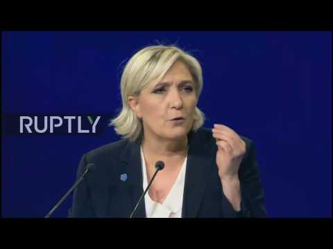 LIVE: Marine Le Pen holds electoral rally in Bordeaux