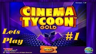 Cinema Tycoon Gold Lets Play! Episode 1: Trying for TWO Screens!!