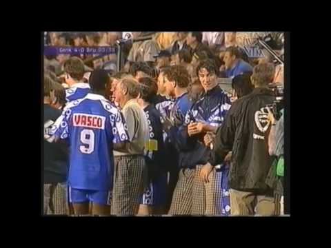KRC Genk-Club Brugge 4-0 (bekerfinale 1998)