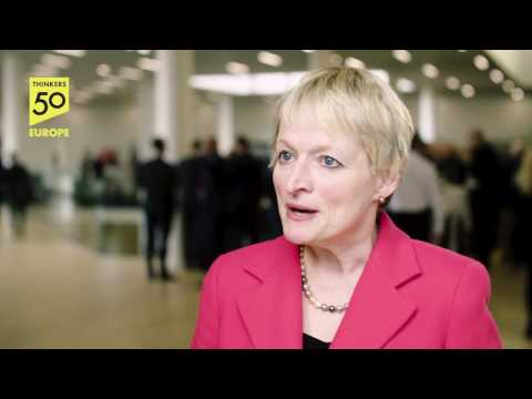 Interview with Rita Gunther McGrath at the European Business Forum 2017 in ODEON, Odense
