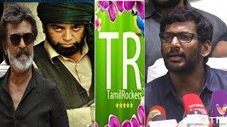 TamilRockers | சோலிய சீக்கீரமா முடிச்சிடலாம் விஷால் அதிரடி |Kaala, Vishwaroopam 2 Release  Update