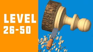 Woodturning 3D Game Walkthrough Level 26-50