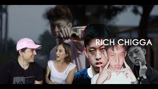 MOM REACTS TO RICH CHIGGA!!!