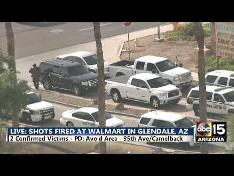 LIVE: 2 victims shot inside of Glendale, Arizona Walmart