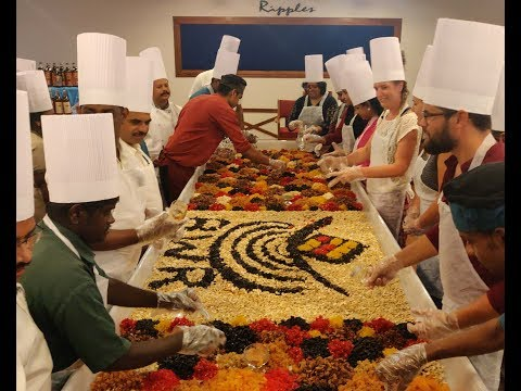 Cake Mixing Ceremony -  2018   Backwater Ripples,Kumarakom   Reorts   Kerala