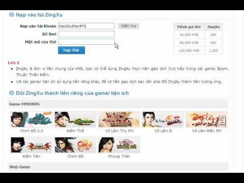Hack Zing Xu VNG 5/8/2015