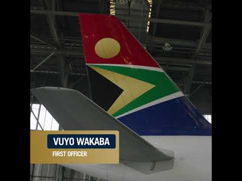 Interview with Vuyo Wakaba, SAA First Officer