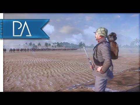 INTENSE WW1 DESERT BATTLE - The Great War Total War Mod Gameplay