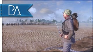 INTENSE WW1 DESERT BATTLE - The Great War Total War Mod Gameplay