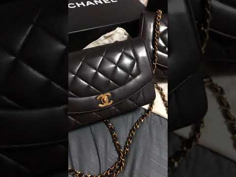 10308abbac8c 17cm VS 20cm Chanel Vintage Mini Bags with 24k Gold Hardware by ...
