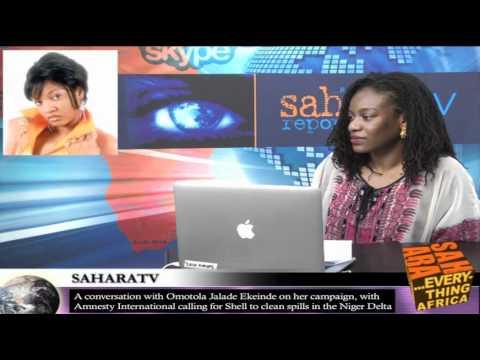 Omotola Jalade Ekeinde on SaharaTV