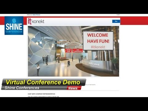 Shine Conferences - Virtual Conference Demo