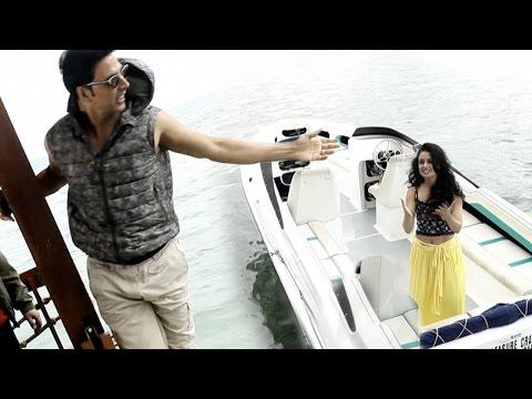 Watch Akshay Kumar Play A Prank On Yuvika Chaudhary | Shaukeens Shoot Mp3