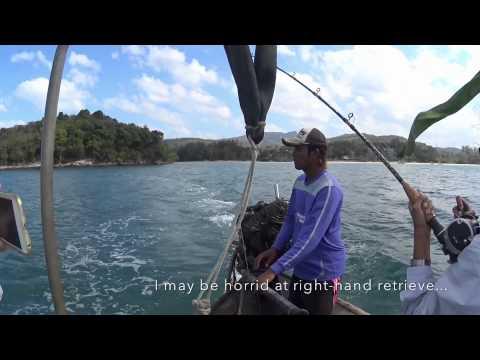 Fishing the Andaman Sea of Krabi!