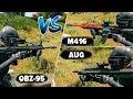 QBZ-95 vs M416/AUG - ИМБА ЛИ НОВОЕ ОРУЖИЕ?! СРАВНЕНИЕ И ДЕТАЛЬНЫЙ АНАЛИЗ / ГАЙД PUBG
