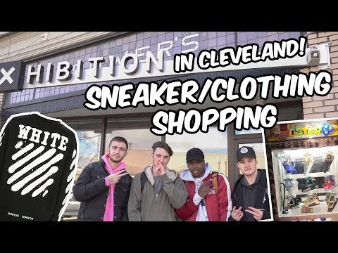 SNEAKER/CLOTHING SHOPPING IN CLEVELAND! (OFF WHITE, KEYMASTER & MORE!)