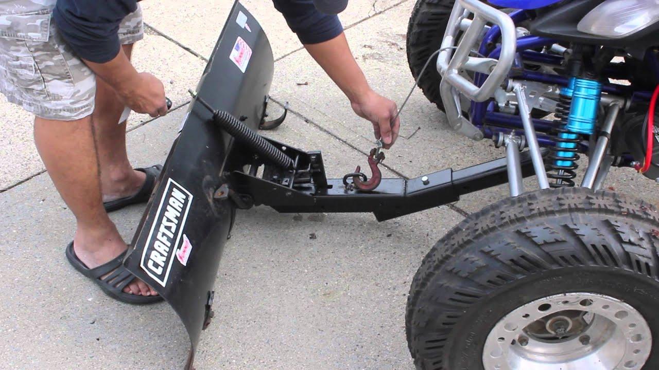 How To Install Plow On Yamaha Atv