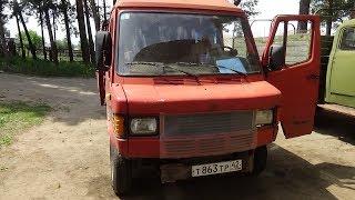 Мерседес 207 Д ,новые колёса ,перебортовка .