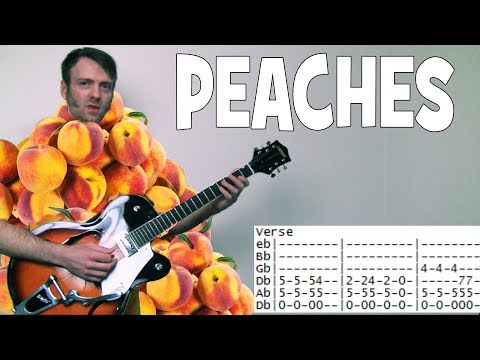how to play Peaches Presidents of the United States of America guitar lesson tab chords PUSA
