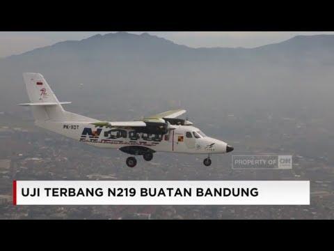 Akhirnya Mengudara! Uji Terbang Pesawat N219 Buatan Anak Bangsa