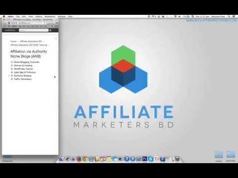 Affiliate Via Authority Niche Blogging - 01. Overview