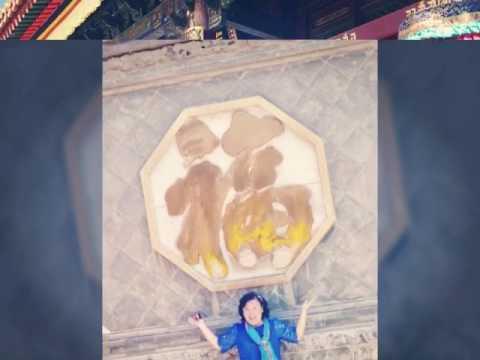 2017年6月去忻州市五台県的中国四大佛教名山之首五台山,有显通寺,塔院寺,五爺庙,菩萨顶