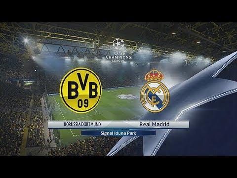 BVB vs Real Madrid   UEFA Champions League 26/09/2017   1080p 60FPS   PES 2018