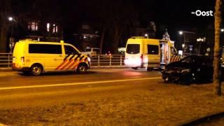 Scooterrijder gewond bij aanrijding met auto in Zwolle