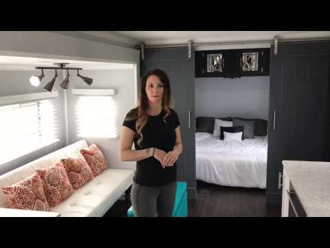 RV Shell Given The Tiny House Makeover