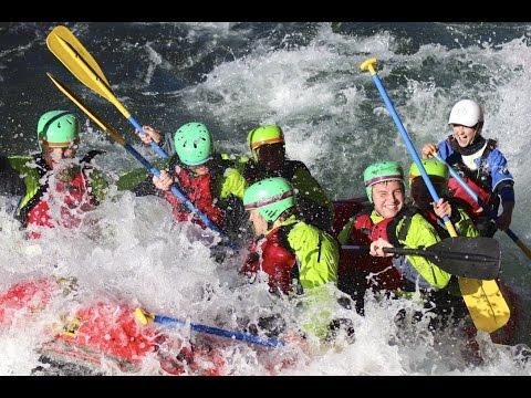 White Water Rafting Tongariro River, New Zealand