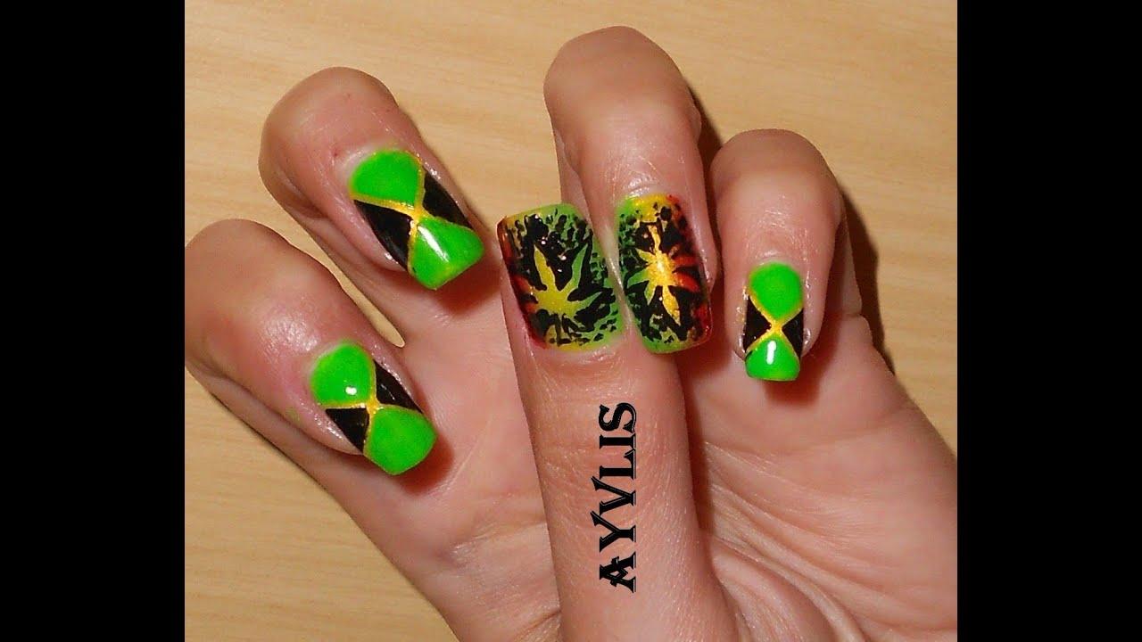 Weed Nails Designs Communiquerenligne