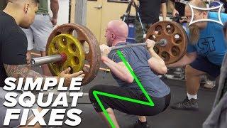 SIMPLE SQUAT FIXES   Mark Bell & Hayden Bowe Coach Your Squat!