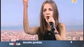 Косара Цонева с коледна песен в ефира на ТВ7