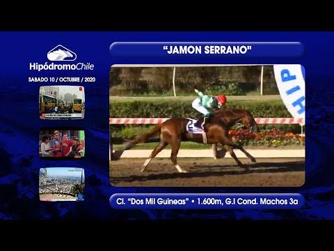 "HCH   JAMON SERRANO   Cl. ""Dos Mil Guineas"" • 1.600m - G.I   10/10/2020"