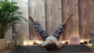 Pyjama yoga before bed