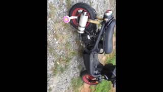 Moped training wheels