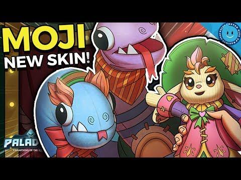 NEW CHILDS PLAY MOJI SKIN! MOJI IS BACK BABY! Toot Moji Gameplay and Build (Paladins 1.8 Update)