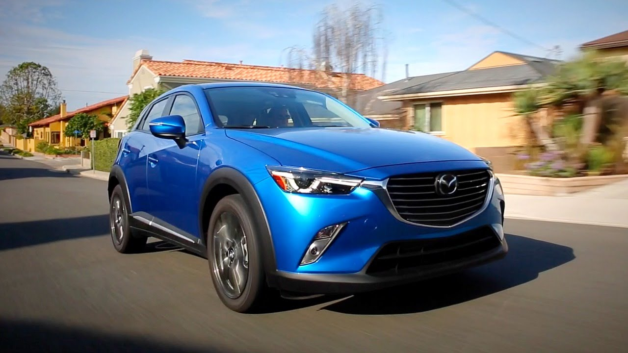 2016 mazda cx-3 - review and road test - youtube