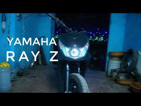 Yamaha ray z Handel bar, head lights, and servicing
