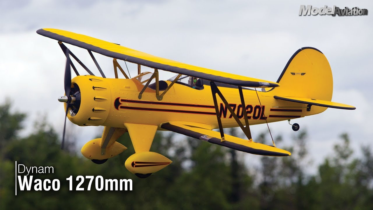 Dynam Waco 1270mm - Model Aviation