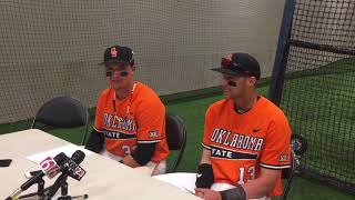 OSU sweeps OU in Bedlam baseball series