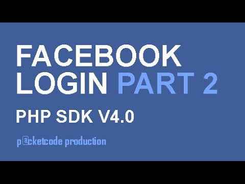 Facebook php sdk v4.0 part 2 - get user email and profile picture