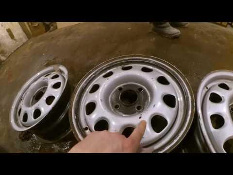Подготовка дисков к покрасу! Как это делается правельно?! Часть 1