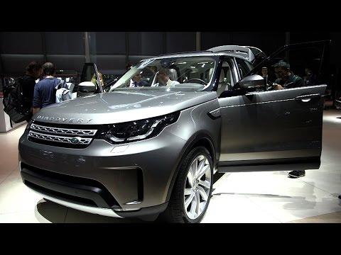 Land Rover @ Paris Motor Show