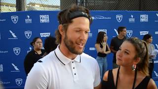 Clayton Kershaw on 5th Annual Ping Pong 4 Purpose event