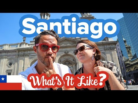 This is Santiago, Chile 🇨🇱 Safe? Beautiful? Must Visit? What to do in the city. Travel Guide