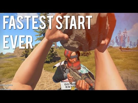 Rust - FASTEST START EVER